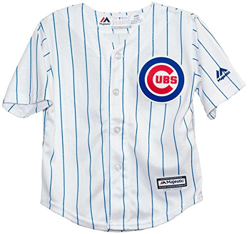 OuterStuff' Chicago Cubs 2015 Home Cool Base Child Size Jerseys (Large (7))
