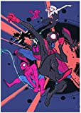 qfafz DIY 5D Diamante Pintura Spiderman Dibujos Animados Punto De Cruz Cristal Set Bordado Decorativo 40X50Cm