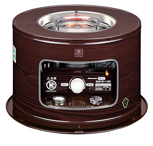 CORONA(コロナ) 石油こんろ 煮炊き用 サロンヒーター 電源不要 防災対策 耐震自動消火装置 タンク容量4.9L KT-1620(M)