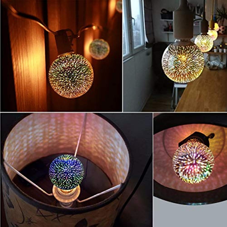 Table Lamps LED 3D Farbeful Fireworks Effect Light Vintage Bulbs Lamp Home Bar Night Light Christmas Decoration