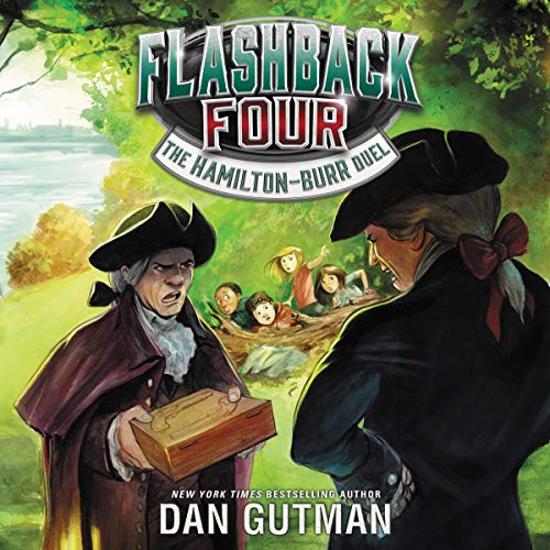 Page de couverture de Flashback Four #4: The Hamilton-Burr Duel