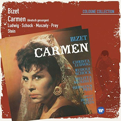 Carmen · Oper in 4 Akten (deutsch gesungen), Zweiter Akt: Nr.14 Euren Toast kann ich wohl erwidern (Torerolied: Escamillo, Frasquita, Mercédès, Carmen, Moralès, Zuniga, Chor)