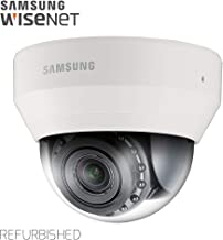 Samsung IPolis Wisenet POE IP Network 1080P 2MP Vandal Dome Camera Security Surveillance Indoor Outdoor Camera SND-6084R for Home, Commercial Building Indoor and Outdoor (Manufacture Refurbished)