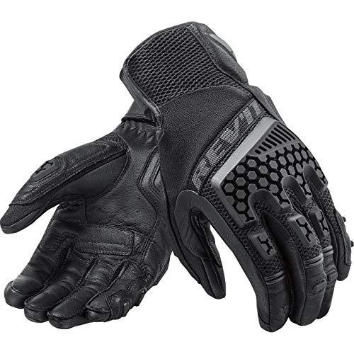 Revit SAND 3 Herren Motorradhandschuhe Leder/Textil Touring - schwarz Größe M