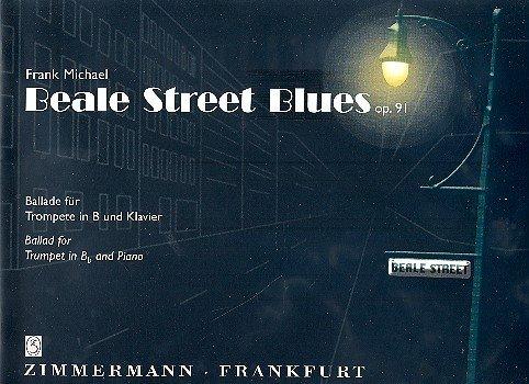 Beale Street Blues: Ballade für Trompete in B und Klavier. Faksimile des handschriftlichen Manuskripts