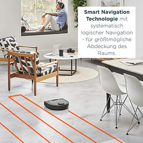 Neato Robotics Botvac D7 Connected – Premium Saugroboter mit Ladestation - 4