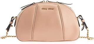 Luxury Fashion | Miu Miu Womens 5BH1422D3UF0770 Beige Shoulder Bag | Fall Winter 19
