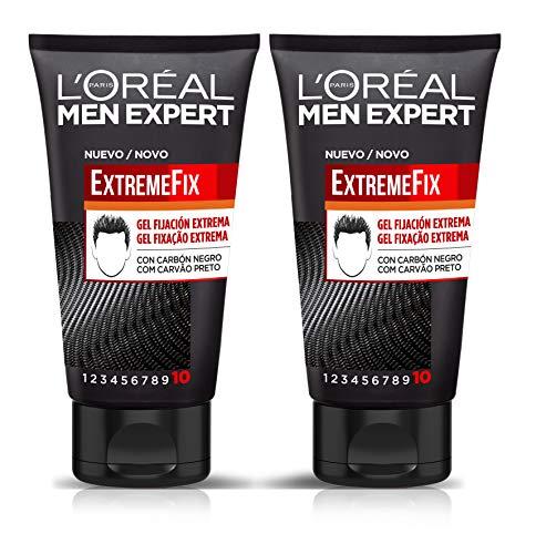 L'Oreal Paris Men Expert Extreme Fix Gel Fijación - Pack de 2 x 150 ml