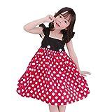 Disfraz de princesa para niñas, diseño de hada de sirena, cosplay, Halloween, Canival, vestido de fiesta de lunares