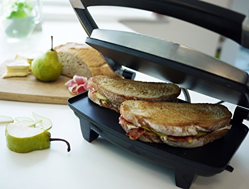 Breville VST026 Four Slice Sandwich Press Stainless Steel - Silver