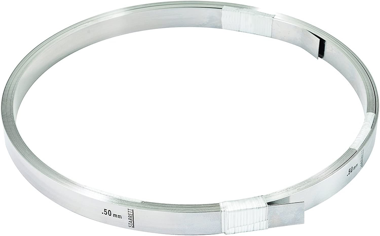 Starrett 666M-50 Feeler Gage Spule, Stärke 0,5 mm, Breite 12,7 mm, Länge 6,1 m B000VDVTGU  Verrückter Preis