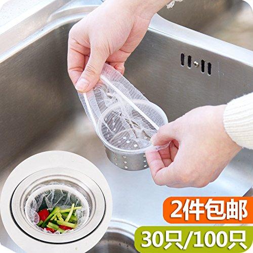 LSGDSXMIY Keuken Afvoer Residue Filter Vuilniszak Anti-Blokkeren Schaal Basin Waterzak Sink Vuilnisfilter Water Snijzak