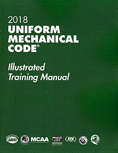 2018 Uniform Mechanical Code Illustrated Training Manual with Tabs