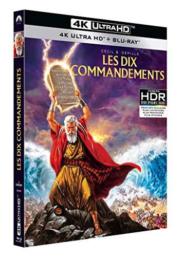 Les Dix Commandements [4K Ultra HD + Blu-Ray]