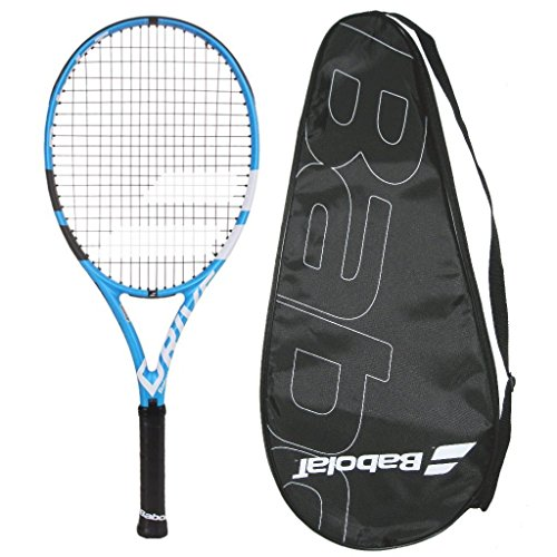 Babolat 2018 Pure Drive Junior 26 - STRUNG with COVER - Tennis Racquet