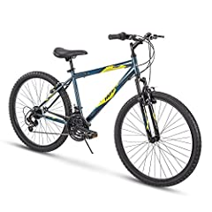 Assembly tutorial video located beside the images; with a Denim Blue hardtail frame and 21 speeds to conquer the trails, the Huffy Summit Ridge is ready for outdoor adventures; just follow the steps in our product manual An exclusive: Ideal for ages ...
