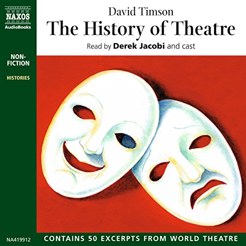 Couverture de The History of Theatre