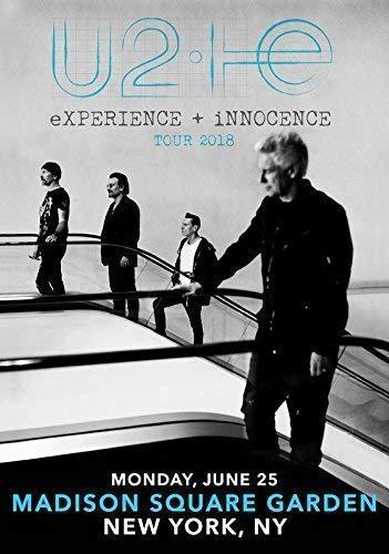 Desconocido U2: Experience + Innocence 2018 Tour: Msg New York City Póster Foto 076 (A5-A4-A3) - A4