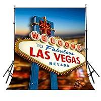 lylycty 5x 7ft ClassicalハワイアンSign Las Vegas写真バックドロップフォトスタジオ背景props1.5× 2.1m bg052