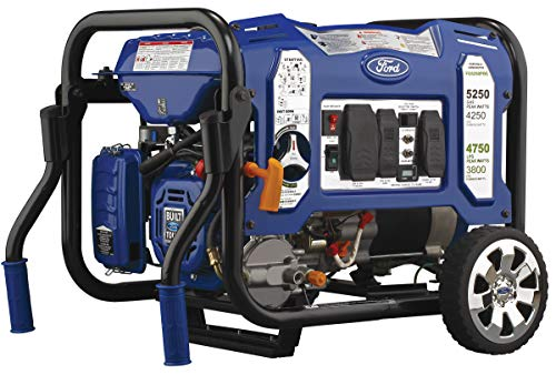 Ford FG5250PBE 5,250W M-Frame Dual Fuel Portable Generator with Switch & Go Technology Generators
