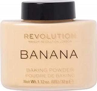 Makeup Revolution Luxury Banana Powder, Yellow, 42 g