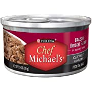 Chef Michael's Braised Brisket Dog Food, 3-Ounce (Pack of 24)