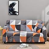 MKQB Funda de sofá de Moda y Simple, Funda de sofá Antideslizante retráctil elástica, Funda de sofá de Esquina en Forma de L para Sala de Estar NO.11 Funda de Almohada