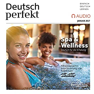 Deutsch perfekt Audio. 1/2017 Titelbild