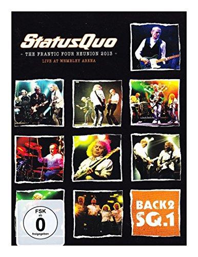 Status Quo - Back2 SQ.1: The Frantic Four Reunion 2013 (+ Audio-CD) [2 DVDs]