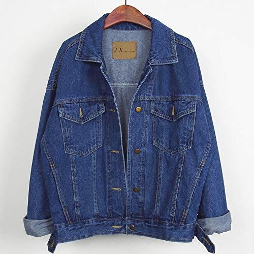 NZJK Spring Jeans Jacket Vrouwen Vrouwelijke Grote Maat Herfst Vintage Basics Jas Vrouwen Harajuku Casual Korte Dames Denim Jas