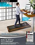 DESKFIT DFT200 Laufband für/unter Schreibtisch – fit und gesund im Büro & zu Hause. Bewegen und ergonomisches Arbeiten, Keine Rückenschmerzen – mit praktischer Tablet-Halterung, Fernbedienung und App - 5