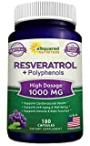 100% Natural Resveratrol with Red Wine Extract - 180...