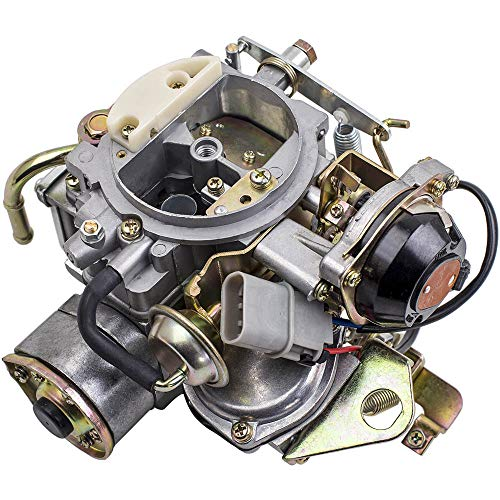 maXpeedingrods Carburetor for Nissan 720 Pickup 1983-1986 with 2.4L Z24 Engine,for Nissan Bluebird/Caravan/Atras Truck/Vanette Panel Van/for Datsun Truck 16010-21G61