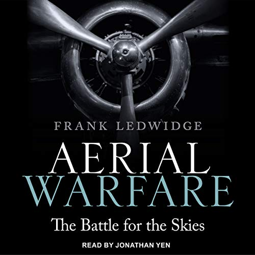 Aerial Warfare audiobook cover art