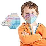 YpingLonk 20/25/50/100PC Unisex Niños Protector Bufanda -Moda Universal 5 Capa Elástico Earloop Neckerchief Chal Bandanas-21113-80