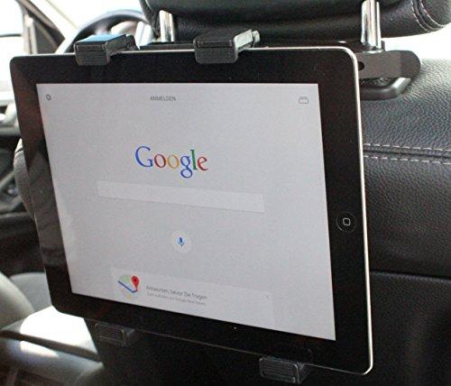 Cartrend KFZ Kopfstützenhalterung für Tablet PC, iPad, Ebook ua.