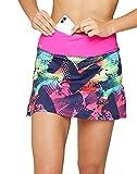 Formbelt® - Variosports Skirt Sports Falda Deportiva para Mujer Integrado para Guardar teléfonos móviles de hasta 6,5', Llaves, pañuelos - Running, Yoga, Fitness, Gym, Brazil M