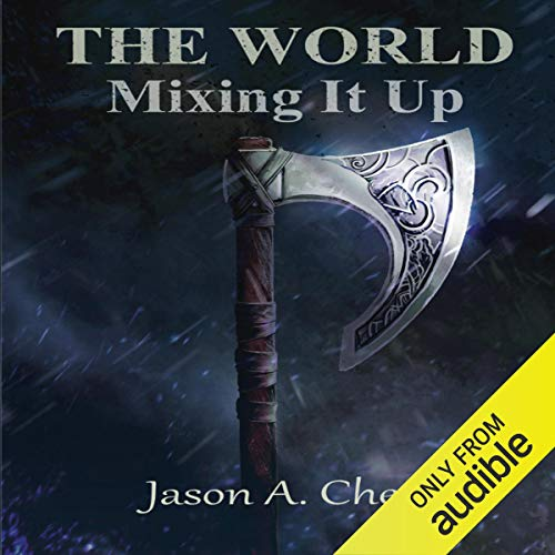 Mixing It Up audiobook cover art