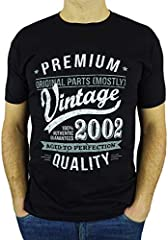 My Generation T-Shirts Vintage Year 2002 - Aged to Perfection