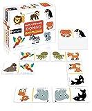 Nathan - Mon premier domino animaux - Jeu éducatif pour développer la mémoire des enfants à partir de 2 ans
