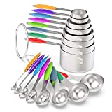 Measuring Cups & Spoons Set of 16 -...