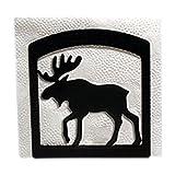 Village Wrought Iron NH-19 Moose Napkin Holder
