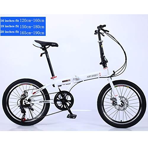 QXue Carbon Fibre City Mountain Bike Single Speed Spoke Wheel MTB Bicycle,White,18 inches