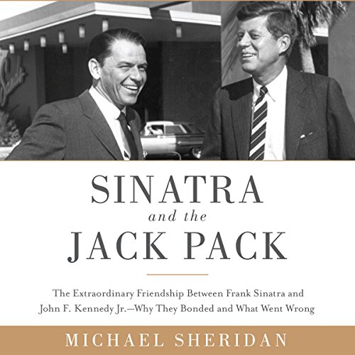 Sinatra and the Jack Pack audiobook cover art