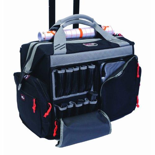 G.P.S. 2215RB Rolling Range Bag, Black