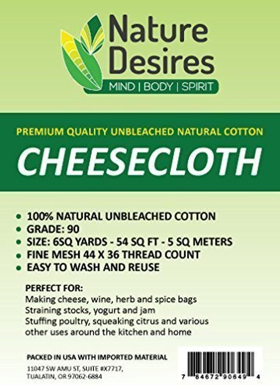 centro comercial de moda Nature Desires Cheesecloth Unbleached Unbleached Unbleached Grade 90 Natural Cotton Cloth by Nature Desires  ventas de salida