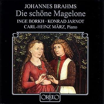 """Brahms: 15 Romanzen, Op. 33 """"Magelone-Lieder"""""""