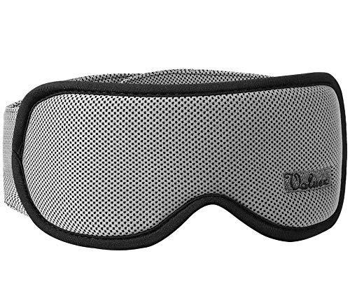 Voluex Schlafmaske Damen und Herren, Premium 3D Schlafbrille Nachtmaske,100% Lichtschutz, super weich und bequem, Augenmaske für Reisen, Schichtarbeit und Nickerchen, Inklusive Ohrstöpseln