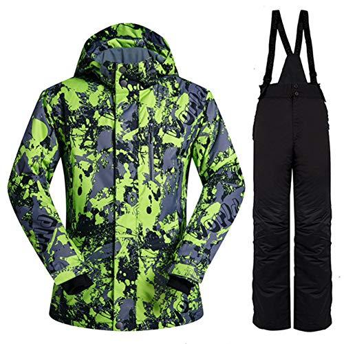 Ski Jassen en Broeken Droog en comfortabel Ademend Houd warme regenjas voor Sportcamping, skateboarden, zelfrijdend