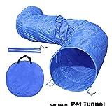 OHANA 5m Hundetunnel Hunde Spieltunnel